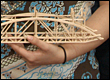 Picture of model basswood bridge