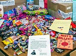 tasty treats to send to U.S. troops deployed overseas