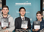 Brookhaven Lab's Model Bridge Building Contest winners