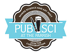 PubSci at the Parrish Logo