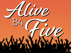 Alive B4 Five logo