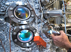 Part of a beamline