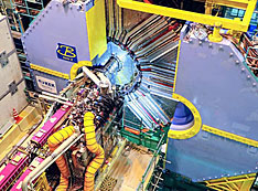 Image of SuperKEKB accelerator