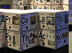 3-D Periodic Table at New York Hall of Science