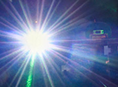 Photo of solar burst