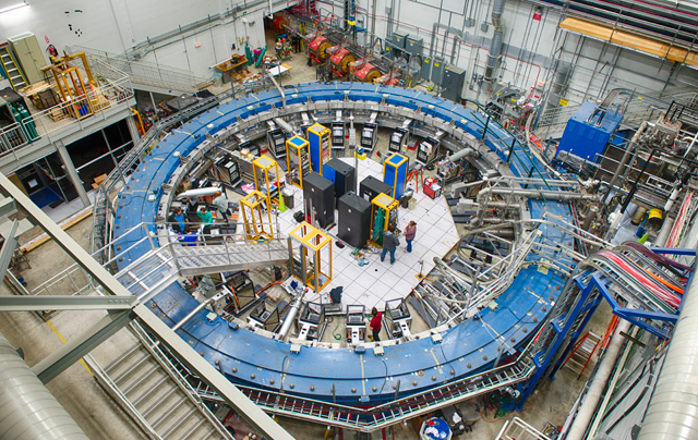 The Muon g-2 ring