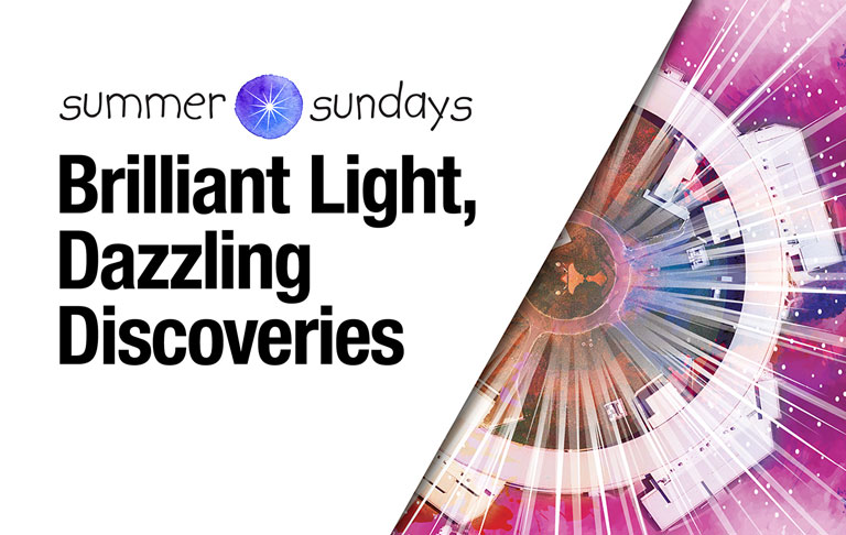 Brilliant Light, Dazzling Discoveries: Visit NSLS-II on July 21
