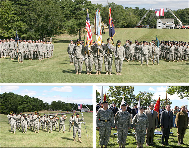 Casing of the Colors Ceremony