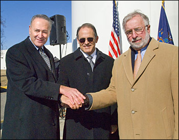Photo of Schumer, Aronson and Bishop