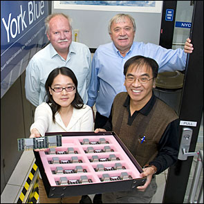 Photo of Brookhaven cloud physicists
