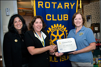 Barbara Royce, Margaret McHugh, and Judy Guerin