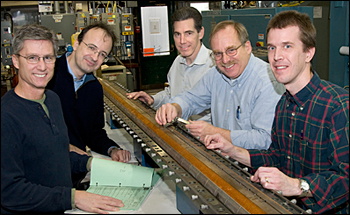 Fred Nobrega and Giorgio Ambrosio from Fermilab, and Mike Anerella, Glenn Jochen, and Jesse Schmalzl