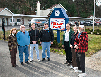 Members of the Brookhaven Veterans Association