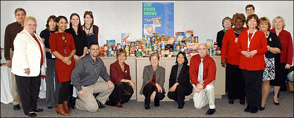 Food Drive Contributors