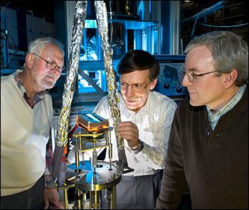 Peter Takacs, Dan Fischer, and Steven Hulbert