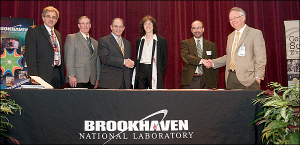 Representatives from BNL, CUNY, and DOE
