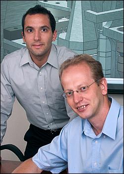 Rafael Lozano and Evgueni Nazaretski