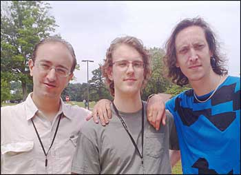 Salvatore Fazio, Thomas Burton and Tobias Toll