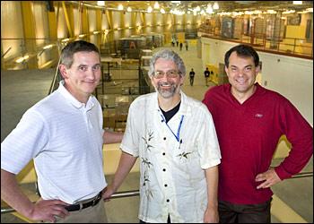 Marc Allaire, Allen Orville, and Alexei Soares