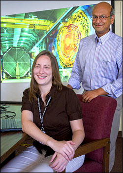 Lisa Whitehead and Milind Diwan