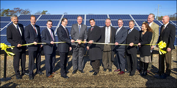 LI Solar Farm dedication