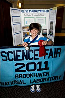 Winning sixth grade Science Fair project