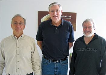 Mark Rivers, Steve Sutton and Tony Lanzirotti