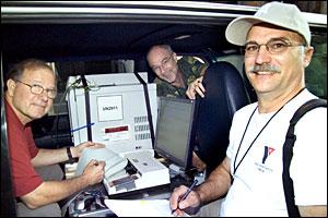 Tom Watson, Bob Wieser and Ernie Lewis