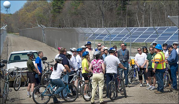 solar farm bike tour