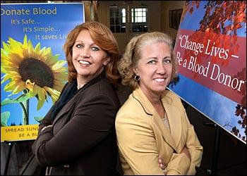 Patti Bender and Sue Perino