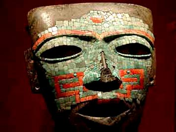 Pakal's burial mask