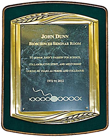 dedication plaque