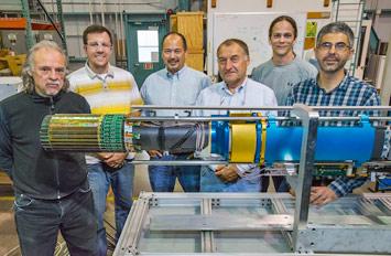Mario Cepeda, Kenneth Wilson, Leo Greiner, Howard Wieman, Thomas Johnson and Giacomo Contin