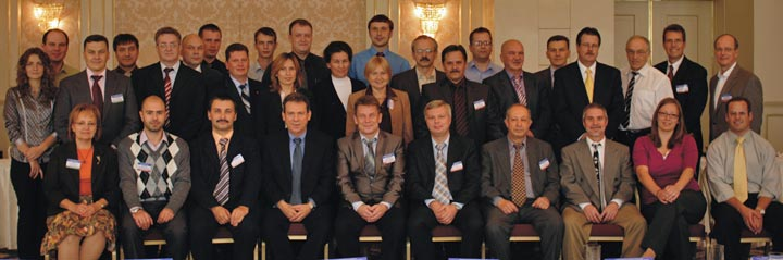 Project team in Bucharest, Romania