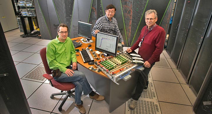 Peter Petreczky, Chulwoo Jung and Joseph DePace