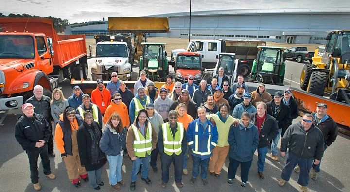 snow-removal crew