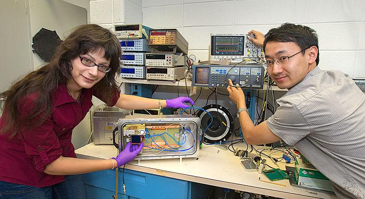 Preparing a test chamber
