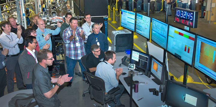 team of scientists, engineers, and technicians at the Coherent Soft X-ray Scattering (CSX) beamline