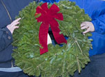 Wreaths Across America program