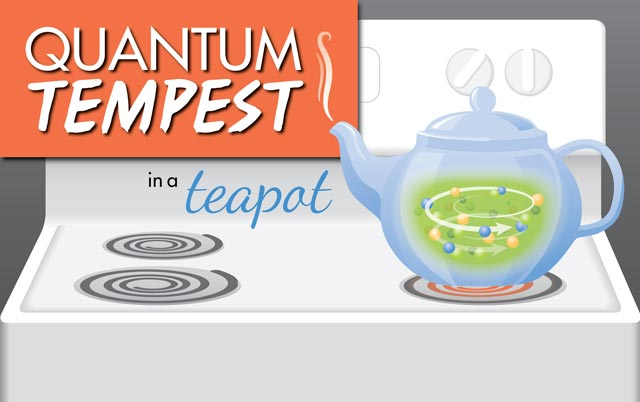 Quantum Tempest in a Teacup