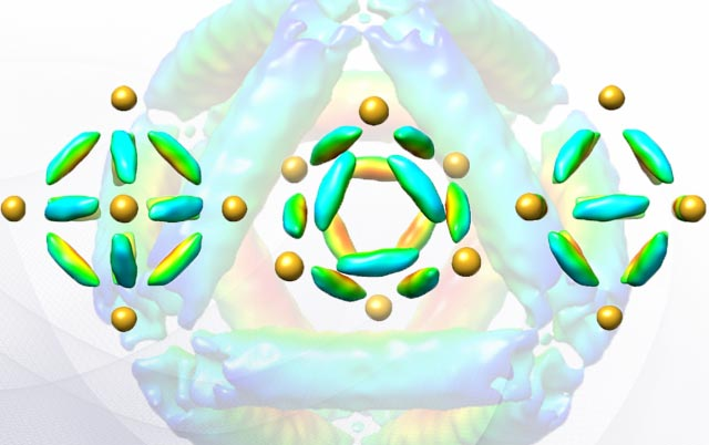 Octohedral Molecule-like Nanostructures